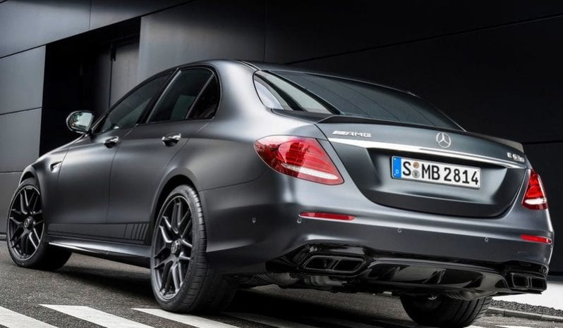 Mercedes-Benz E-Class Saloon AMG E63 S 4Matic (A) full